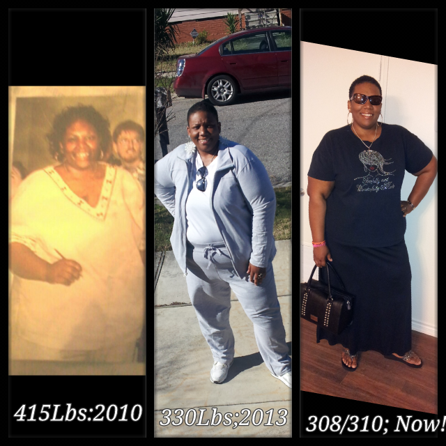 Great success story! Read before and after fitness transformation stories from women and men who hit weight loss goals and got THAT BODY with training and meal prep. Find inspiration, motivation, and workout tips | 110 Pounds Lost: Eating To See A Healthier Me