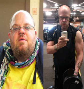 Great success story! Read before and after fitness transformation stories from women and men who hit weight loss goals and got THAT BODY with training and meal prep. Find inspiration, motivation, and workout tips | 230 Pounds Lost: How i lost 230lbs with no job, no home, and no emotional support.