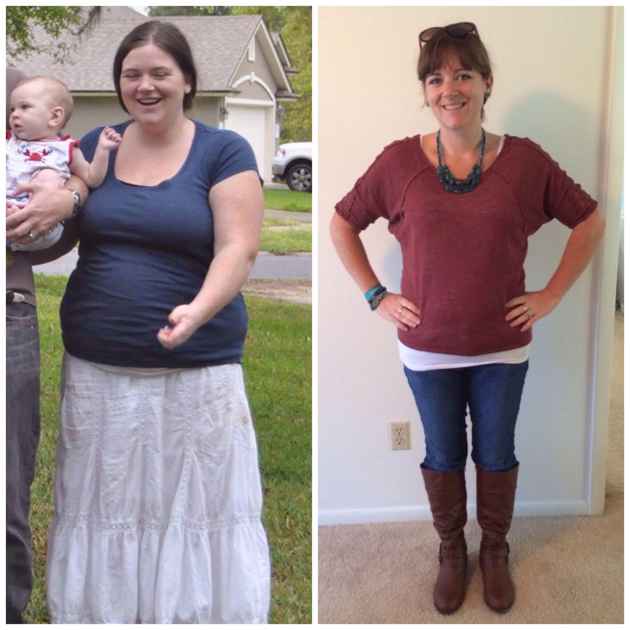 Great success story! Read before and after fitness transformation stories from women and men who hit weight loss goals and got THAT BODY with training and meal prep. Find inspiration, motivation, and workout tips | 115 Pounds Lost:  Losing the weight and finding myself
