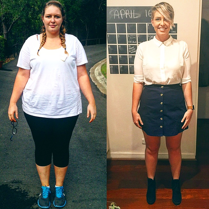 Great success story! Read before and after fitness transformation stories from women and men who hit weight loss goals and got THAT BODY with training and meal prep. Find inspiration, motivation, and workout tips | 115 Pounds Lost: Mission Happy