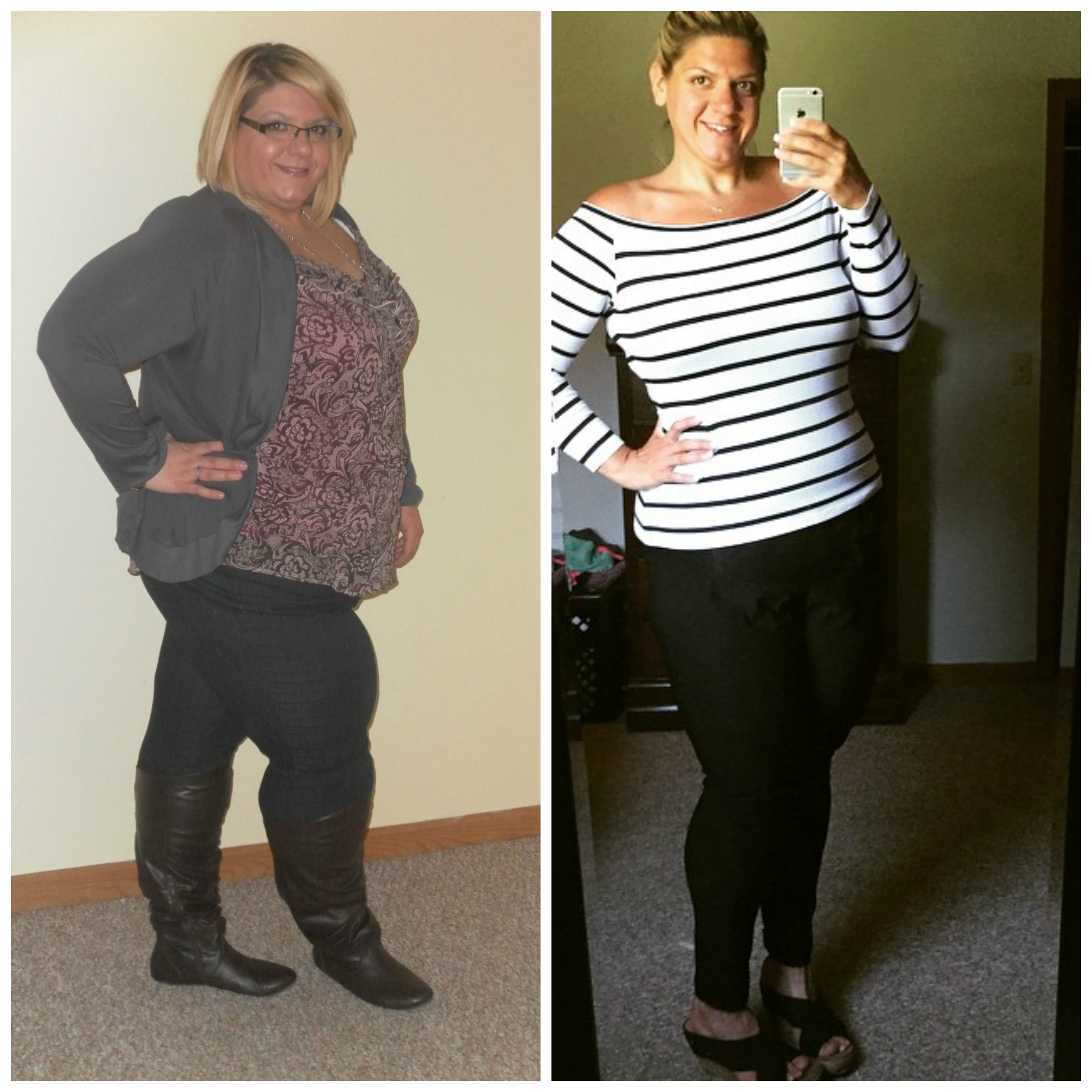 Great success story! Read before and after fitness transformation stories from women and men who hit weight loss goals and got THAT BODY with training and meal prep. Find inspiration, motivation, and workout tips | 140 Pounds Lost:  I am enough