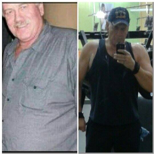 Great success story! Read before and after fitness transformation stories from women and men who hit weight loss goals and got THAT BODY with training and meal prep. Find inspiration, motivation, and workout tips | 90 Pounds Lost: Very Proud Sixty Year Old Grandpa