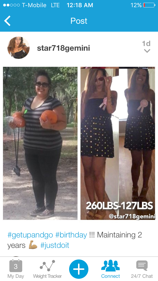 Great success story! Read before and after fitness transformation stories from women and men who hit weight loss goals and got THAT BODY with training and meal prep. Find inspiration, motivation, and workout tips | 133 Pounds Lost: Believe and never give up.