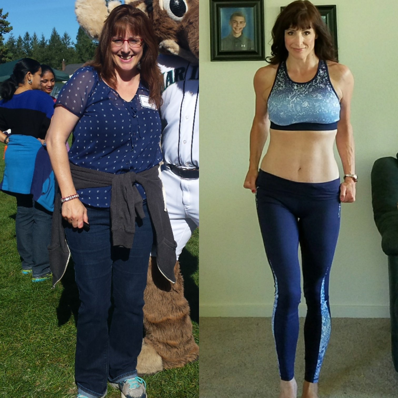 Christine lost 47 pounds! See my before and after weight loss pictures, and read amazing weight loss success stories from real women and their best weight loss diet plans and programs. Motivation to lose weight with walking and inspiration from before and after weightloss pics and photos.