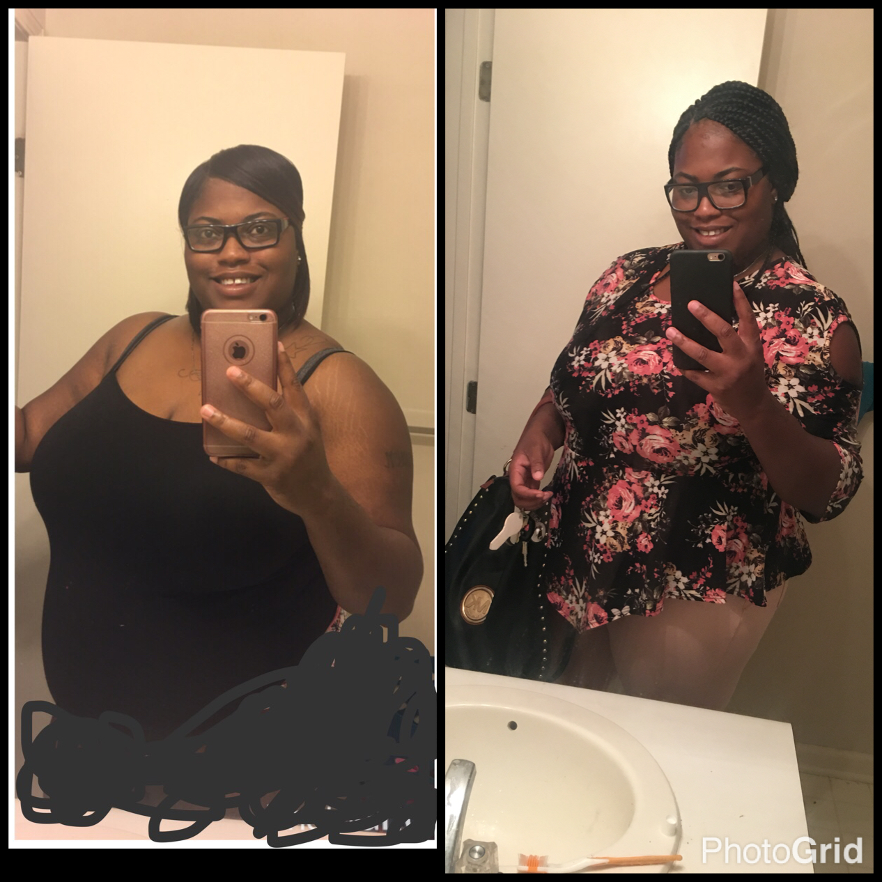I lost over 30 pounds! Read my weight loss success story at the inspiration weightloss website The Weigh We Were.  Beautiful black women losing weight with clean eating habits, lifestyle changes, meal plans and diet programs. Before and after African American pictures, motivation, fitspo and workout gym tips.