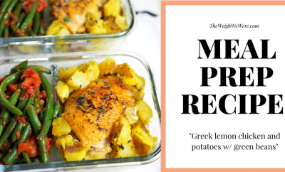 meal prep greek lemon chicken fb