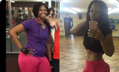 Keisha's 79 Pound Weight Loss Transformation:  She's a Beast!