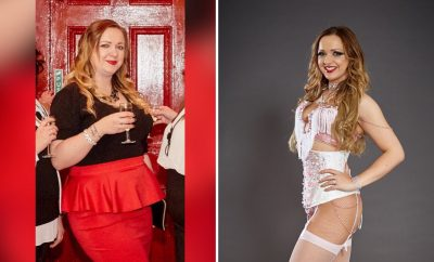 Ballooned Teen drops 5-stone to become Burlesque Beauty