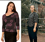 I Got Fat Eating Healthy Foods Alicia Blank lost 68 pounds when she downsized her portions