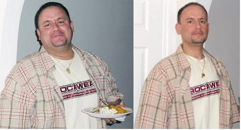 I lost 129 pounds! Read my weight loss success story and see my before and after weight loss pictures at the website The Weigh We Were. Hundreds of success stories, articles and photos of weight loss diet plans for men, tips for how to lose weight for men. Build muscle and lose belly fat with healthy male weight loss transformation pics for inspiration!