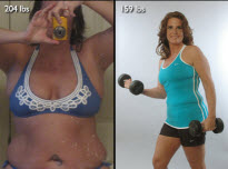 Deanna Kutz Shed 45 Pounds And Cut Her Body Fat!