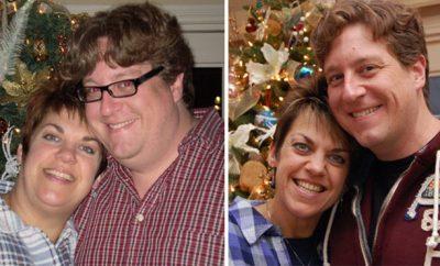 Josh, over 100 pounds; Terri, 100 pounds
