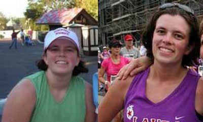 Laura Losch, 29, of Gainesville sheds 39 pounds