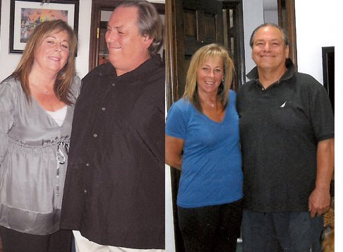 Tony and Lori lost 131 pounds together! See our before and after weight loss pictures, and read amazing weight loss success stories from real women and their best weight loss diet plans and programs. Motivation to lose weight with walking and inspiration from before and after weightloss pics and photos.