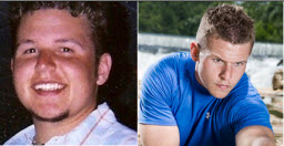 I lost 80 pounds! Read my weight loss success story and see my before and after weight loss pictures at the website The Weigh We Were. Hundreds of success stories, articles and photos of weight loss diet plans for men, tips for how to lose weight for men. Build muscle and lose belly fat with healthy male weight loss transformation pics for inspiration!