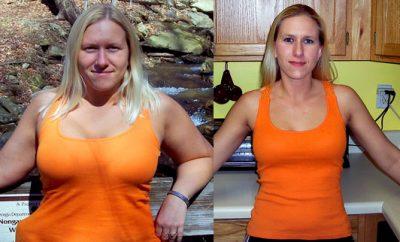 Melissa Hunt, 26, of Athens sheds 53 pounds