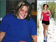 Sarah lost 75 pounds! See my before and after weight loss pictures, and read amazing weight loss success stories from real women and their best weight loss diet plans and programs. Motivation to lose weight with walking and inspiration from before and after weightloss pics and photos.