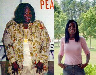 Veolia Gibson, 54: From 400 pounds to 138 pounds
