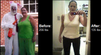 Read on to learn how Adina turned her life around and dropped over 120 pounds!