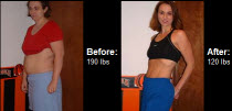 See how Angie Logan made great changes and lost 70 lbs!
