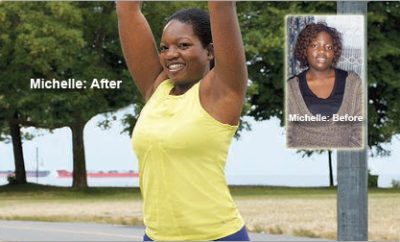 Weight Loss Success Story: Michelle Lost 46 Pounds And Found Her Willpower