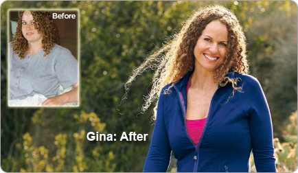 Gina lost 76 pounds! See my before and after weight loss pictures, and read amazing weight loss success stories from real women and their best weight loss diet plans and programs. Motivation to lose weight with walking and inspiration from before and after weightloss pics and photos.
