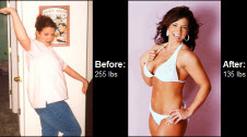 Learn how Christina Cunningham lost 105 lbs!
