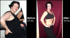 Erica lost 55 pounds! See my before and after weight loss pictures, and read amazing weight loss success stories from real women and their best weight loss diet plans and programs. Motivation to lose weight with walking and inspiration from before and after weightloss pics and photos.