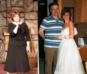 Real Weight Loss Success Stories: Kim Lost 65 Pounds And Can Fit Into Her Wedding Dress Again