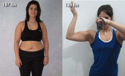 Weight Loss Before and After: Kristen Lost 20 Pounds With Sheer Determination