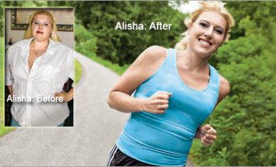 """""""I stopped living in denial."""" Alisha lost 120 pounds."""