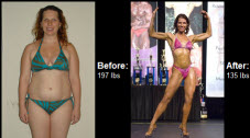 Read on to learn how Meagan lost 62 pounds of post-pregnancy weight right here!