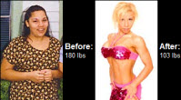 Weight Loss Before and After: Michele Shed 77 Pounds And Won The Texas Shedder Classic