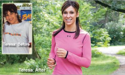 """I hated being a fat mom."" Teresa lost 60 pounds."