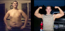 I lost 103 pounds! Read my weight loss success story and see my before and after weight loss pictures at the website The Weigh We Were. Hundreds of success stories, articles and photos of weight loss diet plans for men, tips for how to lose weight for men. Build muscle and lose belly fat with healthy male weight loss transformation pics for inspiration!