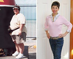 Weight Loss Before and After: Cindy Lost 204 Pounds Followig Nutrisystem