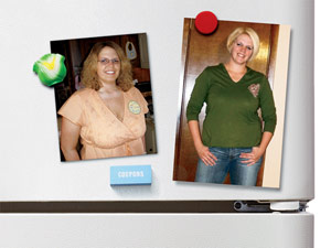Weight Loss Before and After: Stephanie Cut 48 Pounds To Lose All The Baby Weight