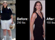 Tina lost 140 pounds! See my before and after weight loss pictures, and read amazing weight loss success stories from real women and their best weight loss diet plans and programs. Motivation to lose weight with walking and inspiration from before and after weightloss pics and photos.