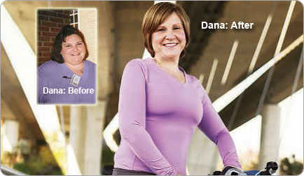 Dana lost 190 pounds! See my before and after weight loss pictures, and read amazing weight loss success stories from real women and their best weight loss diet plans and programs. Motivation to lose weight with walking and inspiration from before and after weightloss pics and photos.