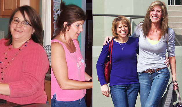 Vicki and Beth lost 125 pounds! See our before and after weight loss pictures, and read amazing weight loss success stories from real women and their best weight loss diet plans and programs. Motivation to lose weight with walking and inspiration from before and after weightloss pics and photos.