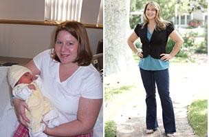 Hilary lost 73 pounds! See my before and after weight loss pictures, and read amazing weight loss success stories from real women and their best weight loss diet plans and programs. Motivation to lose weight with walking and inspiration from before and after weightloss pics and photos.