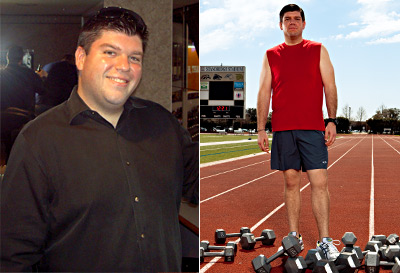I lost 90 pounds! Read my weight loss success story and see my before and after weight loss pictures at the website The Weigh We Were. Hundreds of success stories, articles and photos of weight loss diet plans for men, tips for how to lose weight for men. Build muscle and lose belly fat with healthy male weight loss transformation pics for inspiration!