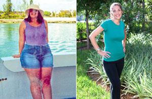 How One Woman Lost Over Half Her Weight