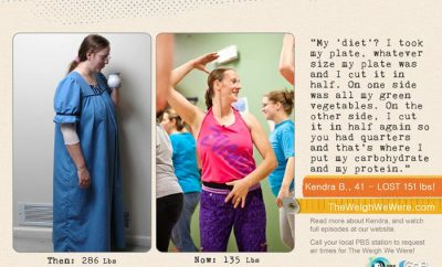 Weight Loss Before and After: Kendra Found Zumba And Lost 151 Pounds!