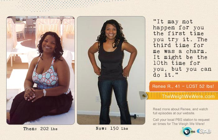 Renee Ross Lost 52 Pounds - The Weigh We Were