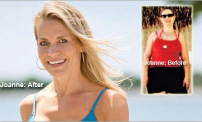 """""""After my divorce, I didn't get mad. I got fit."""" Joanne lost 60 pounds."""