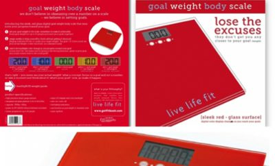 Review: Goal Weight Scale – Finally a Scale That Motivates!
