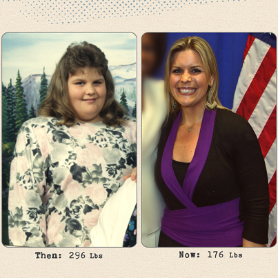 Talia lost 120 pounds! See my before and after weight loss pictures, and read amazing weight loss success stories from real women and their best weight loss diet plans and programs. Motivation to lose weight with walking and inspiration from before and after weightloss pics and photos.