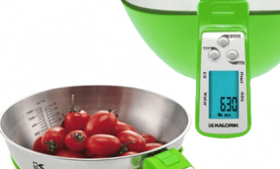 Kalorik Digital Kitchen Scale With Volume Calculation – Use Precise Quantities for Your New Recipes