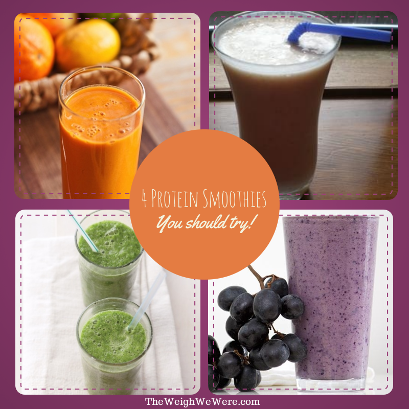 4 Protein Smoothies